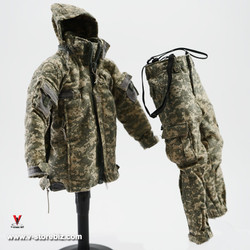 Hot Toys Mountain Ops Sniper ECWCS ACU Level 5 Parka