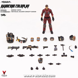 Joy Toy  JTHC001 Hardcore Coldplay USMC Individual Soldier