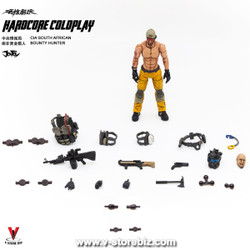 Joy Toy  JTHC002 Hardcore Coldplay CIA South African Bounty Hunter