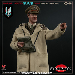 Ujindou UD90001 WWII Military Series British SAS Founder David Stirling