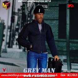 MCCTOYS MCC026B GREYMAN Outfit & Weapon