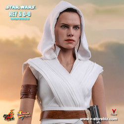 Hot Toys MMS559 Star Wars The Rise of Skywalker Rey and D-O