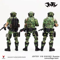 JOYTOY 81911021 Russian Camouflage Team (Set of 3)