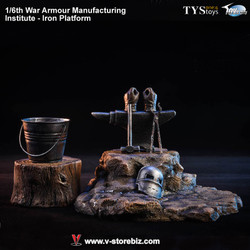 TYSTOYS TCS006 War Armour Manufacturing Institute Iron Platform