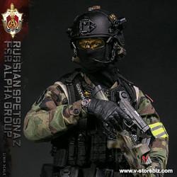 DAMToys 78071 Russian Spetsnaz FSB ALPHA Group St.Petersburg