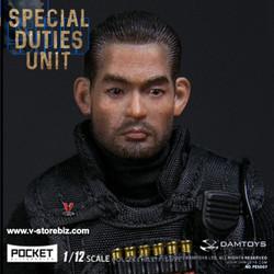 DAMToys PES007 1/12 Pocket Elite Series Hong Kong SDU FAI Sir