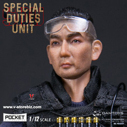 DAMToys PES008 1/12 Pocket Elite Series Hong Kong SDU SAM Sir