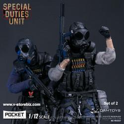 DAMToys PES007 & PES 008 1/12 Pocket Elite Series Hong Kong SDU Set of 2