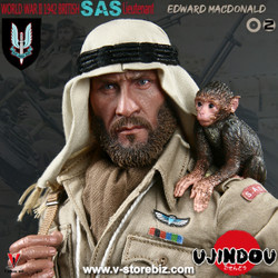 Ujindou U9002 WWII British SAS Lieutenant Edward MacDonald 1942