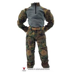 E&S 26011 Army SFG Veteran Dragoon Woodland G3 Uniform