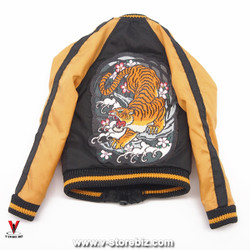DAM Gangsters Kingdom GK017 Van Ness Baseball Jacket