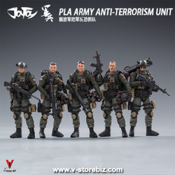Joy Toy 81911041 1/18 PLA Counter Terrorism Unit