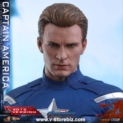 Hot Toys MMS563 Avengers: Endgame Captain America (2012 Version)