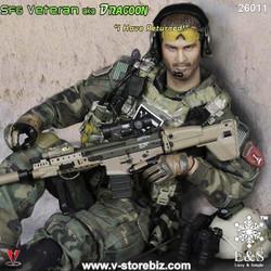 E&S 26011 Army SFG Veteran AKA Dragoon