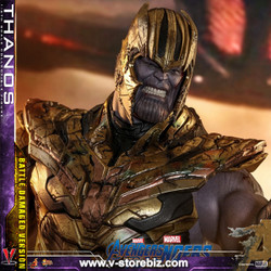 Hot Toys MMS564 Avengers: Endgame Thanos (Battle Damaged Version)