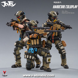 Joy Toy Hardcore Coldplay Hell Skull Paratrooper Squad