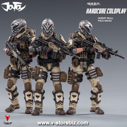 JOYTOY 1/18 Skeleton Forces Perish Company