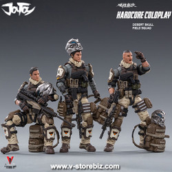 Joy Toy 1/18 Hardcore Coldplay Desert Skull Field Squad