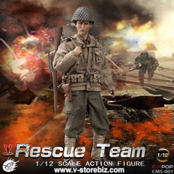 POPTOYS 1/12 CMS001 WWII US Rescue Squad Sniper
