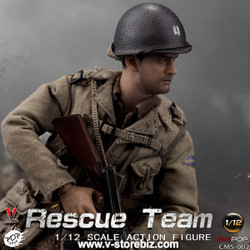 POPTOYS 1/12 CMS002 WWII US Rescue Squad Captain