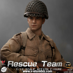 POPTOYS 1/12 CMS003 WWII US Rescue Squad Paratrooper