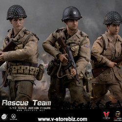 POPTOYS 1/12 CMS004 WWII US Rescue Squad Set of 3