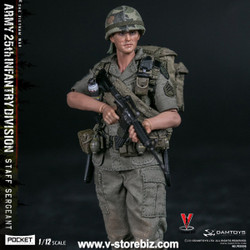 DAMTOYS 1/12 PES006 Army 25th Infantry Division Private Staff Sergeant