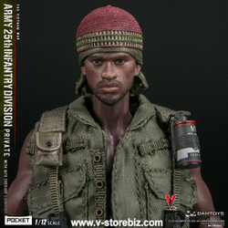 DAMTOYS 1/12 PES011 Army 25th Infantry Division Private with M79 Grenade Launcher