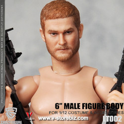Crazy Figure LT002 1/12 Body & Headsculpt