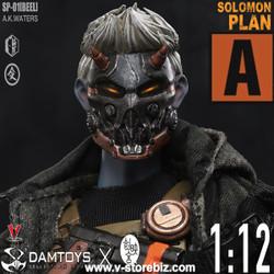 DAM SIP001A 1/12 Solomon In Plan Beel (Mask Version)