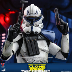 Hot Toys TMS018 Star Wars: The Clone Wars - Captain Rex