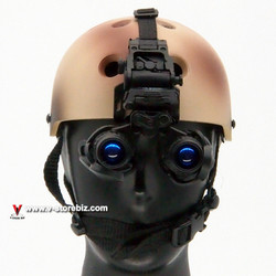 DAMTOYS 78069 SDV-1 Team Leader Protec Helmet & NVG