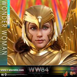 Hot Toys MMS577 Wonder Woman 1984 Golden Armor Wonder Woman