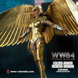 Hot Toys MMS578 Wonder Woman 1984 Golden Armor Wonder Woman (Deluxe Version)