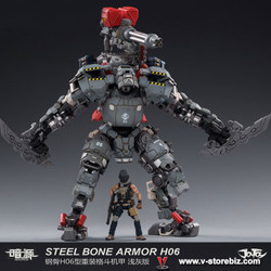 JoyToy JT0043 1/25 H06 Steel Bone Armor Light Grey Version
