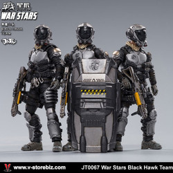 JOYTOY JT0067 1/18 War Stars Black Hawk Team