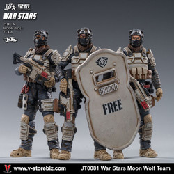 JOYTOY JT0081 1/18 War Stars Moon Wolf Team