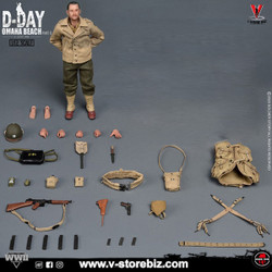Soldier Story SSM-004 WWII US 2nd Ranger Battalion Captain (Figure Only)