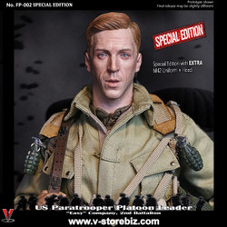 """Facepool FP-002B US Paratrooper Platoon Leader - """"Easy"""" Company  (Special Edition)"""