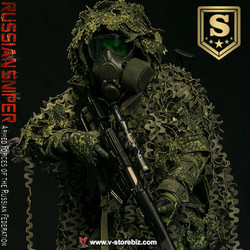 DAMTOYS 78078S Armed Forces of the Russian Federation RUSSIAN Sniper Special Edition