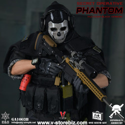 General's Armoury GA1003B Special Operative Phantom (Multicam Black Version)
