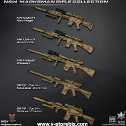 E&S 06024 NSW Marksman Rifle & Pistol Collection (Set of 5)