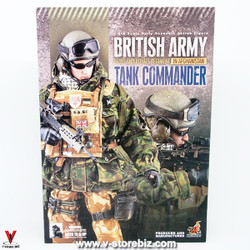 Hot Toys British Army in Afghanistan Tank Commander