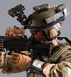 Crazy Dummy 78002 US Army Ranger Gunner in Afghanistan