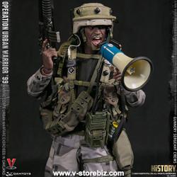 DAM 78080 Operation Urban Warrior '99 Marine Corps Gunnery Sergeant Crews