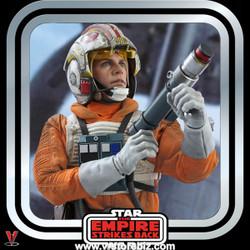Hot Toys MMS585 Star Wars : The Empire Strikes Back Luke Skywalker (Snowspeeder Pilot)