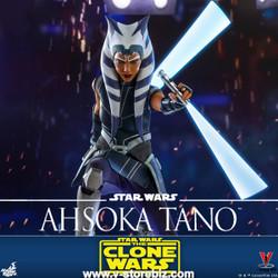 Hot Toys TMS021 Star Wars: The Clone Wars Ahsoka Tano