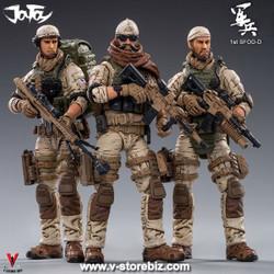 JOYTOY JT0180 1/18 U.S. Army Delta Force Squad