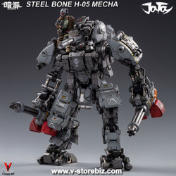 JOYTOY JT0418 1/25 H05 Steel Bone Heavy Firepower Mecha (Gray)