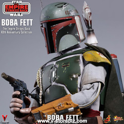 Hot Toys MMS574 Star Wars: The Empire Strikes Back Boba Fett (40th Anniversary)